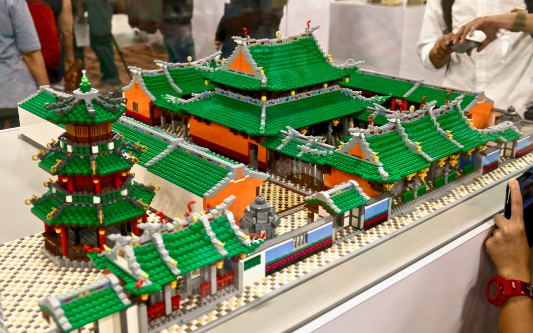 Explore Singapore's National Monuments through Lego bricks and blocks
