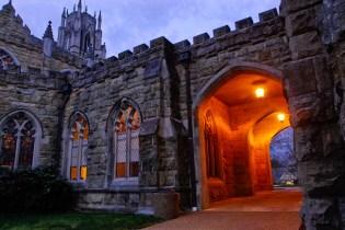 All Saints Chapel at dawn