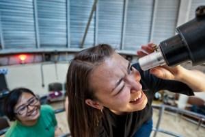 UofA astronomy students
