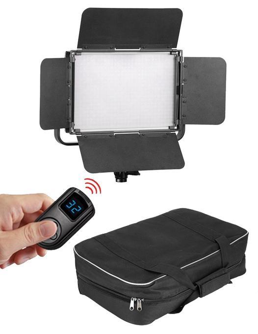 Cum fotografiezi simplu un platou cu mancare/Tolifo Led Bicolor