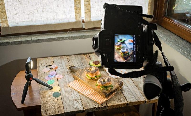 Fotografia culinara creata simplu cu buget redus