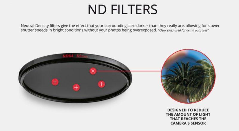 filtre nd