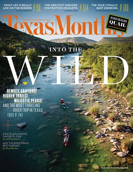 Cover of Texas Monthly