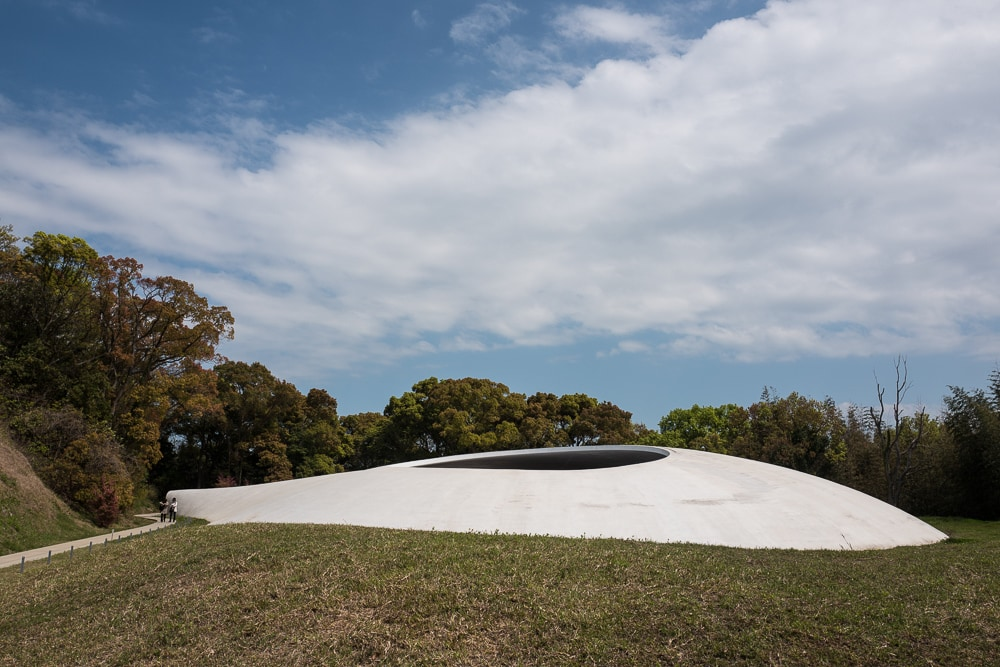 Teshima Art Museum. Photo by Allen Murabayashi