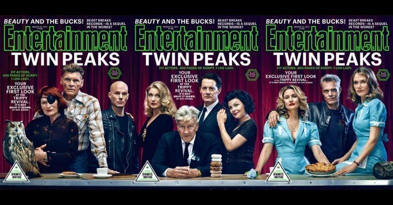 Entertainment Weekly Twin Peaks Cover