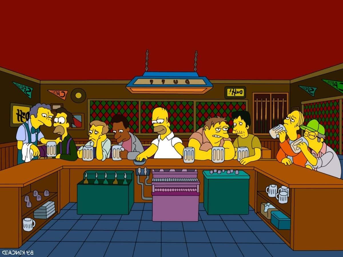 Simpson Last Supper