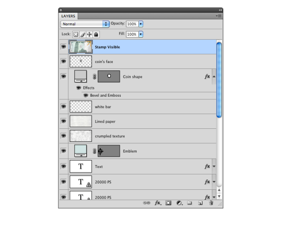 Photoshop Tip: Stamp Visible layers