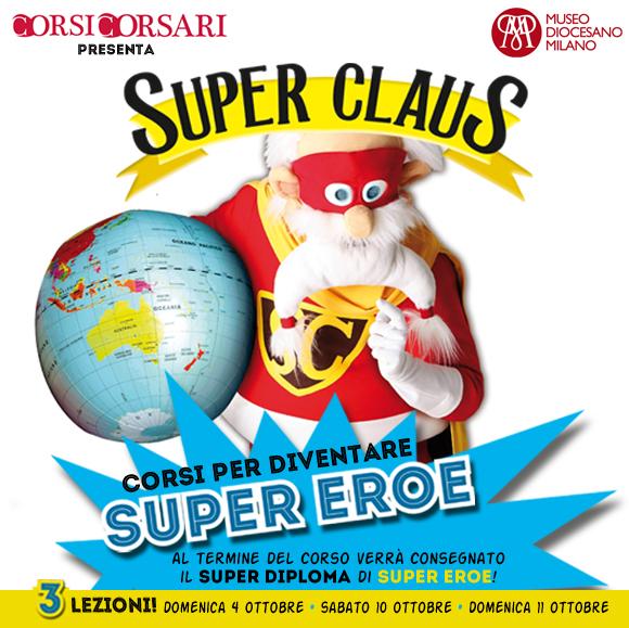 Laboratori di Super Claus per bambini a Milano
