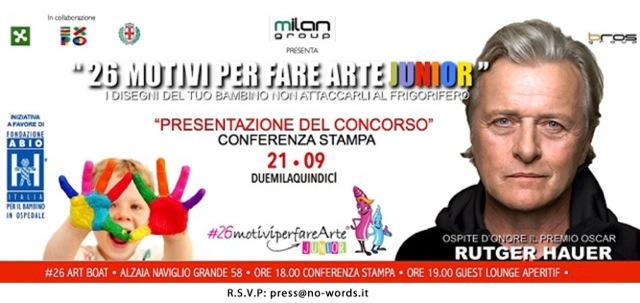 Evento charity per bambini a Milano