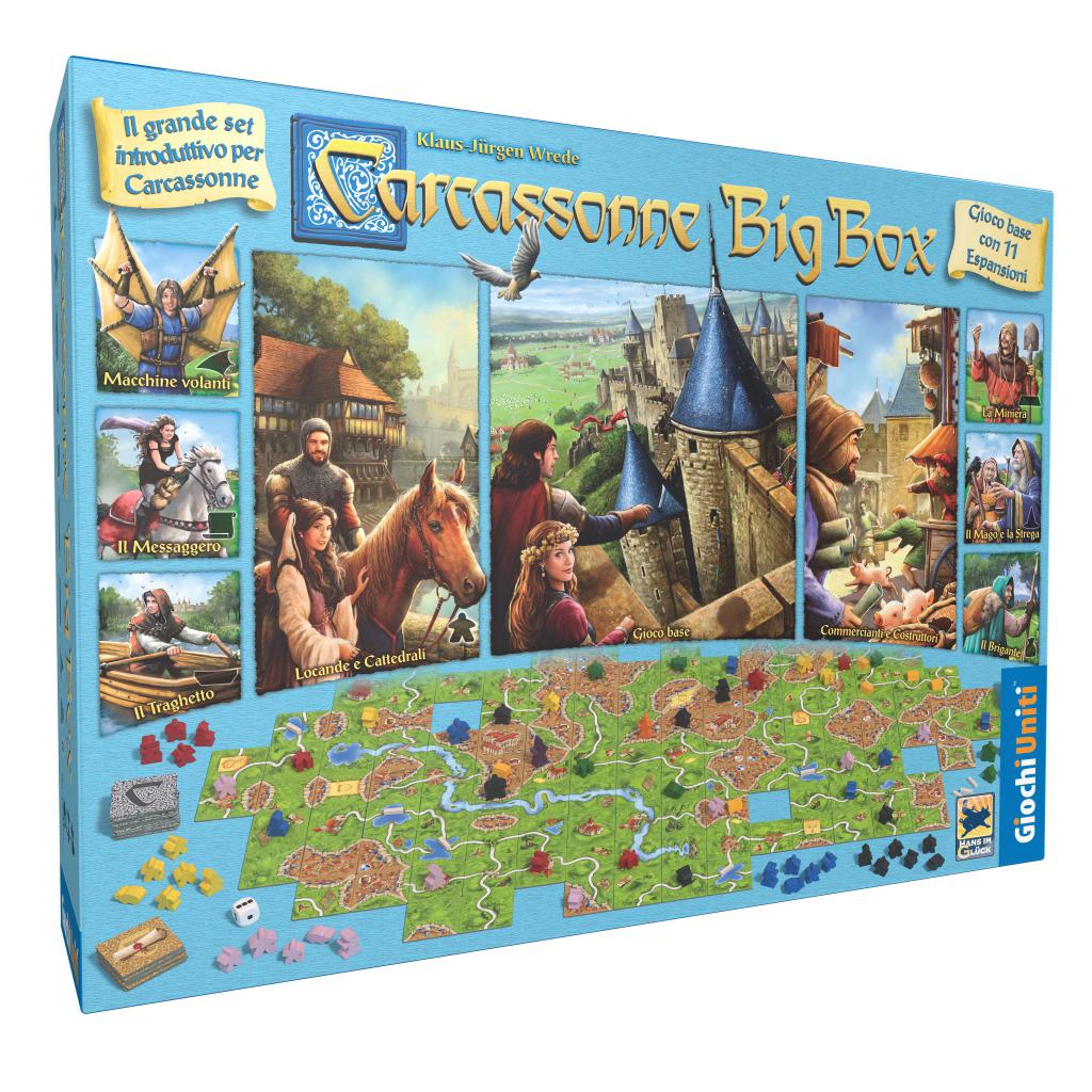 Nuova edizione di Carcassonne Big Box