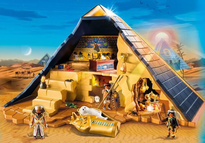Grande piramide playmobil