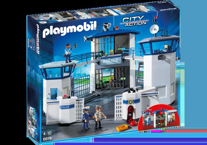 La Stazione della Polizia di Playmobil