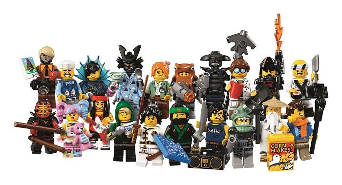 Pronti per giocare con Lego Ninjago?