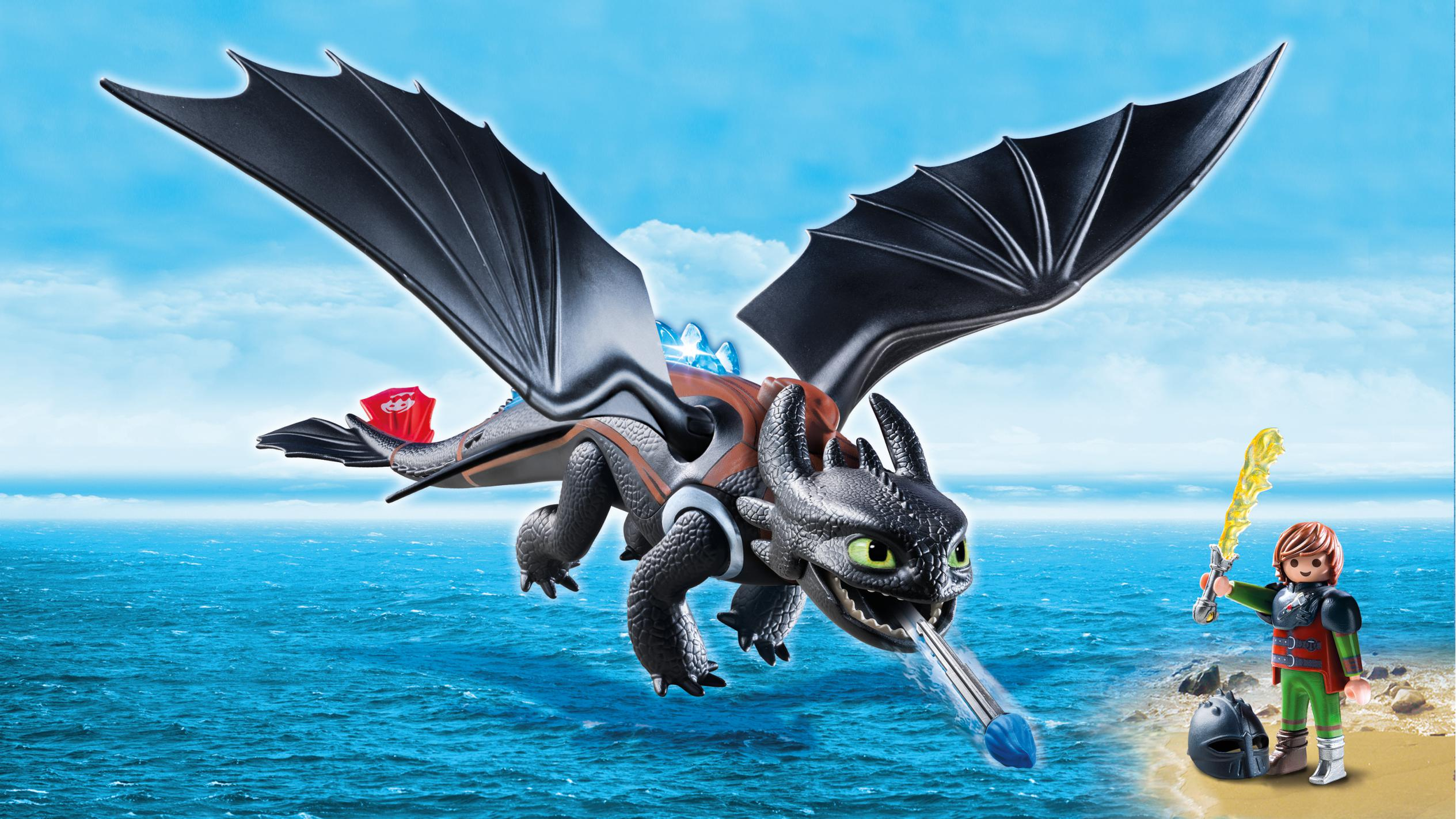 Gioca a Dragons con Playmobil