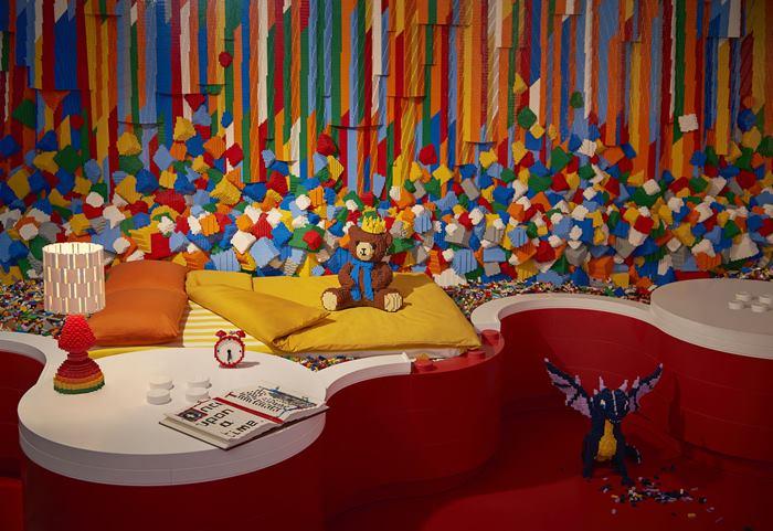 Vinci una notte nella Lego House