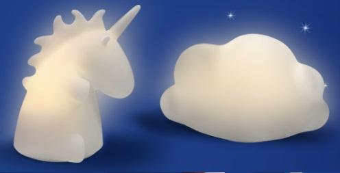 Lampada unicorno o nuvola? In regalo con Aquafresh