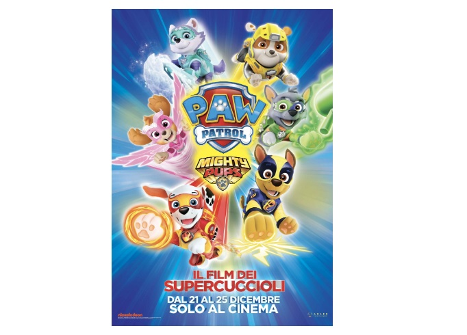 Paw Patrol Mighty Pups. Il Film dei Supercuccioli