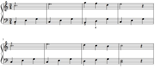 Diabelli - Ländler Bladmuziek piano PDF