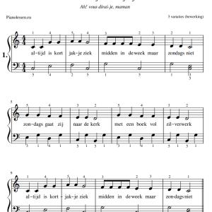 Altijd is Kortjakje ziek Bladmuziek PDF