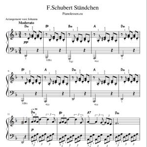 Schubert Serenade Ständchen PDF sheet