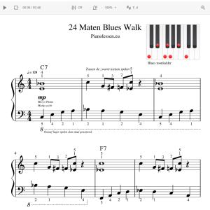 24 Maten Blues Walk Meespeeltrack