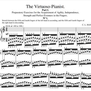 Hanon 1 - 20 PDF music sheet