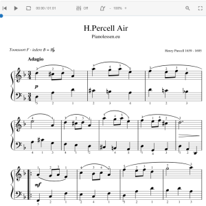 Purcell Air Module & bladmuziek PDF