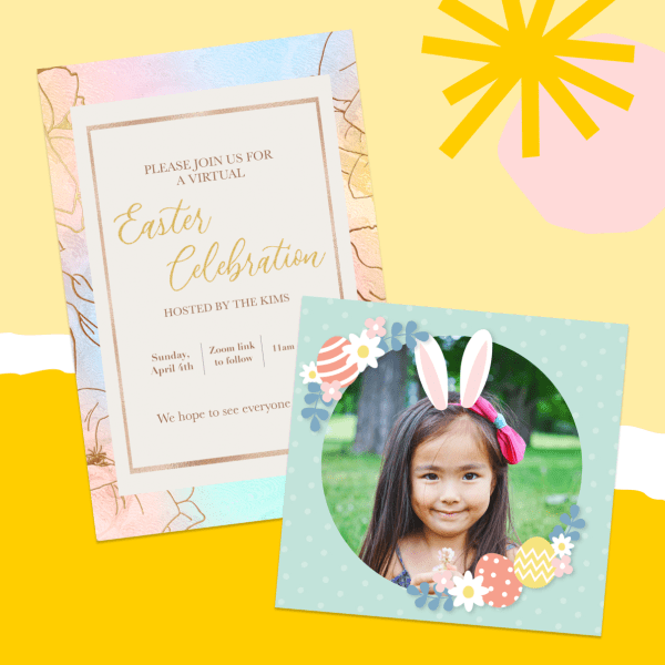 Make Easter Cards with PicCollage