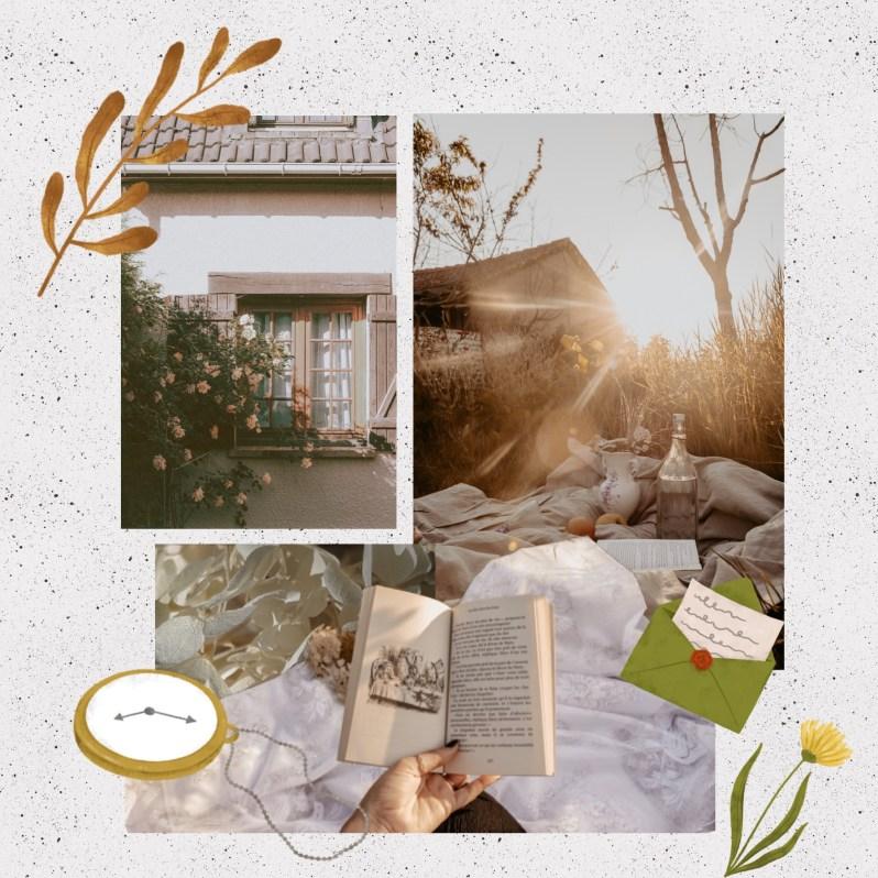 Fall Mood Board Inspiration - Cottage Core Vibe