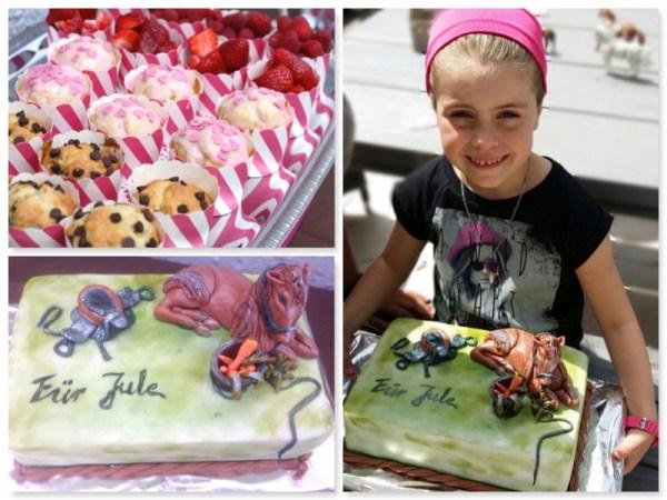Pferdeparty Kuchen
