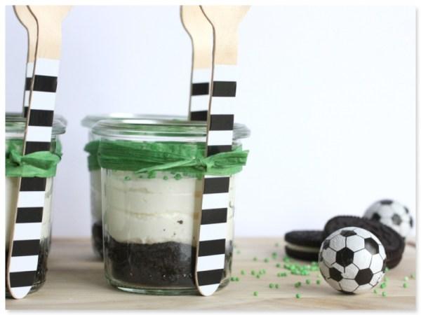 Fussball-Dessert