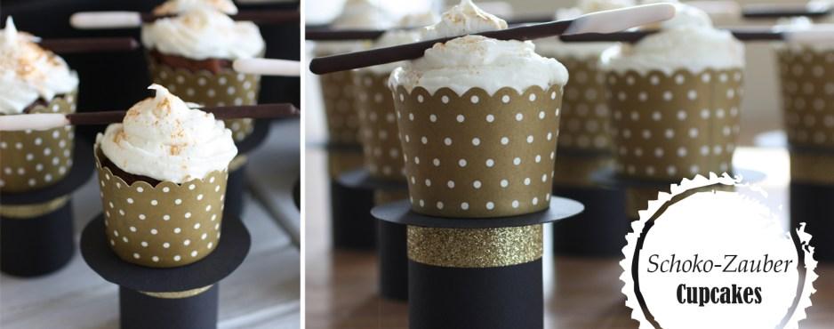 Schoko-Zauber-Cupcakes
