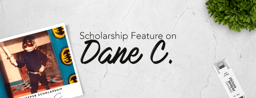 Scholarship Feature on Dane C