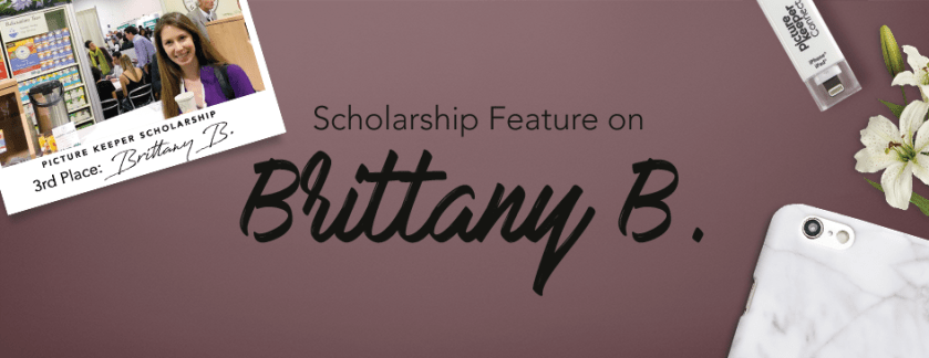 Third Place Scholarship Winner – Brittany B.