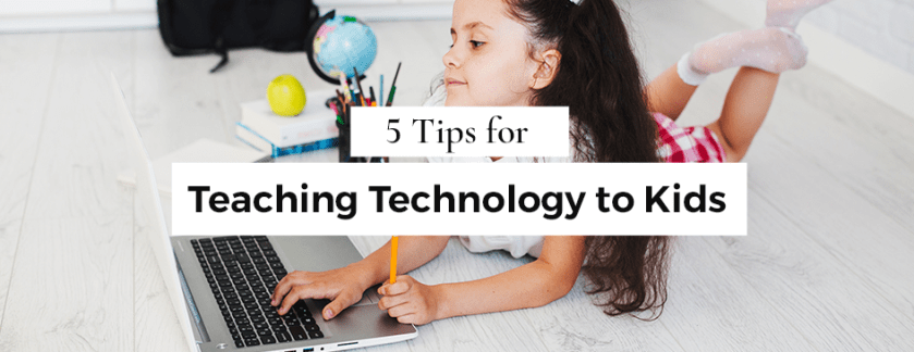 5 Tips for Teaching Technology Etiquette to Kids