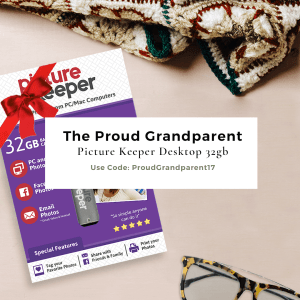 Proud grandparent graphic