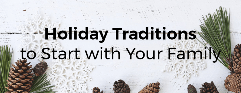 family holiday traditions banner
