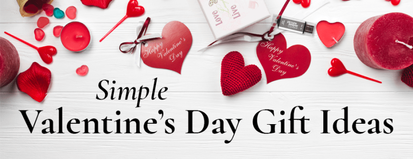 Valentines Themed Gift Ideas Header