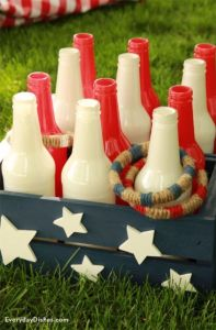 patriotic themed ring toss