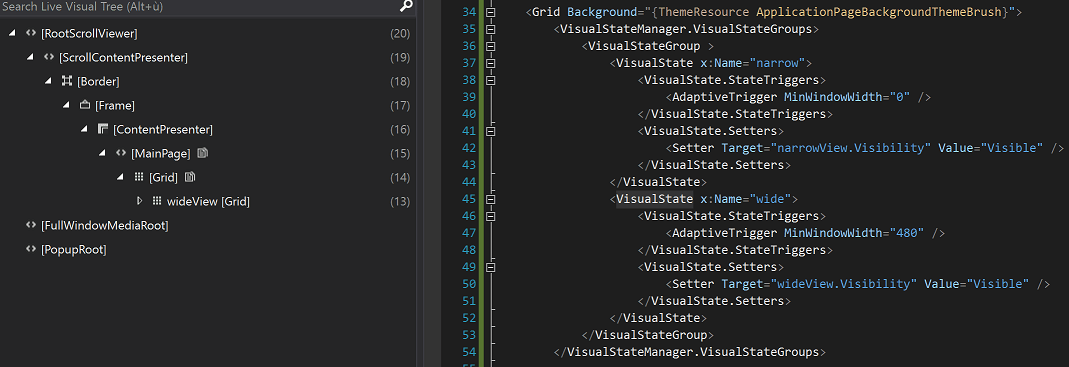 UWP Deferred Loading Strategy, mind the Visual State manager