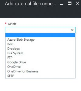 Azure Function External File API