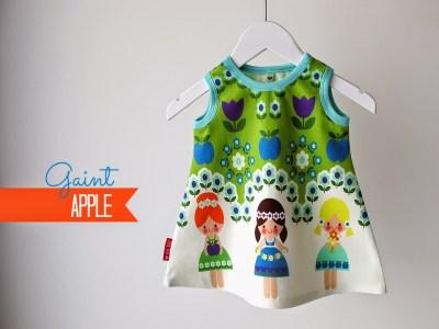 Giant Apple,  Finch Fabrics bloemenmeisjes