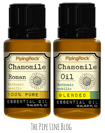 Piping Rock - The Pipe Line - 100 % Pure & Blended Chamomile Roman Essential Oil