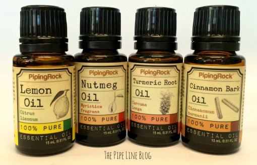Piping Rock - The Pipe Line - Aromatherapy Essential Oil Blends - Spiced Tea