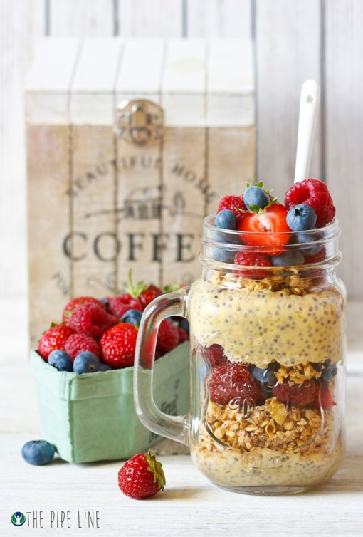 Piping Rock - The Pipe Line Blog - Honey Yogurt Parfait - Recipe