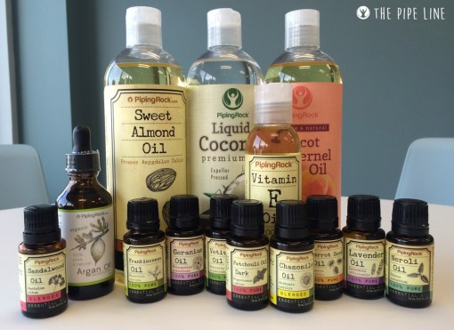 Piping Rock - The Pipe Line - DIY Skin Oils with Essential Oils