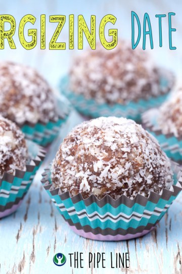 Piping Rock - The Pipe Line - Julie's Kitchen Healthy Recipes - Energizing Date Balls - Vegetarian