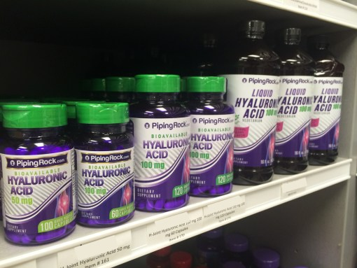 Piping Rock - The Pipe Line Blog - Hyaluronic Acid Supplements
