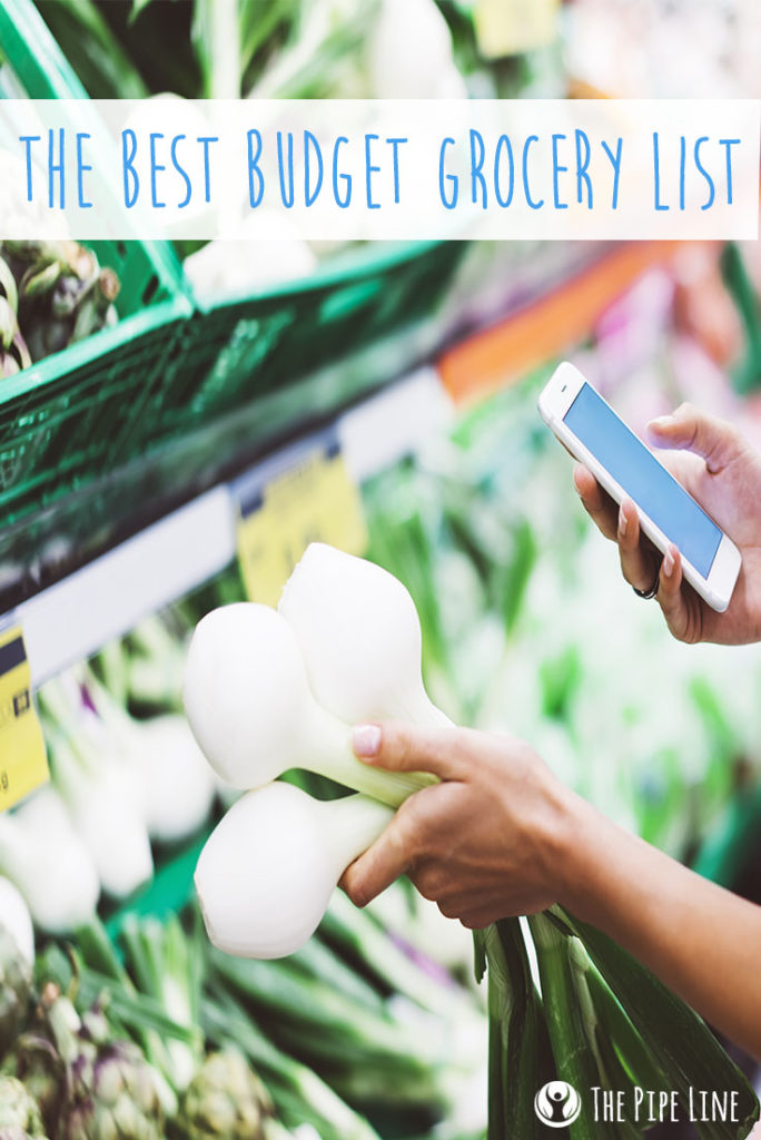 budget shopping list