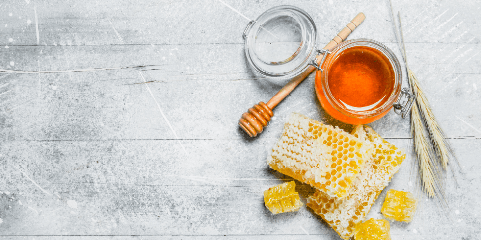 Honey in Mason Jar